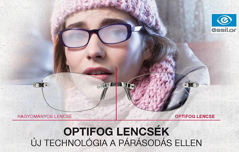 Szemüveg párásodás ellen