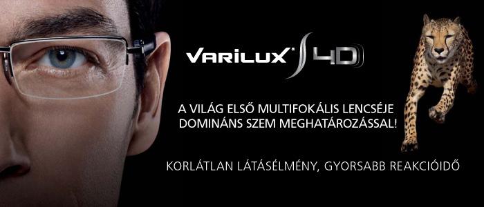Varilux S 4D - Multifokális szemüveg domináns szem meghatározással ... d8555e20c8